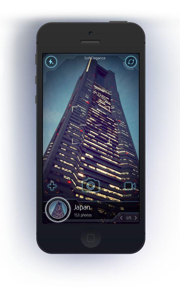 PhotoDrive app by Cuberto , via Behance