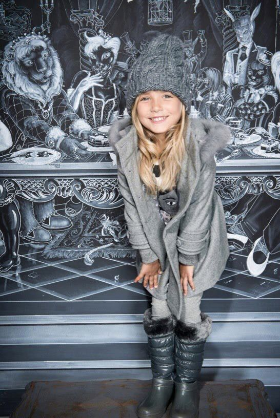 ALALOSHA: VOGUE ENFANTS: A miracle winter collection by Artigli Girl brand
