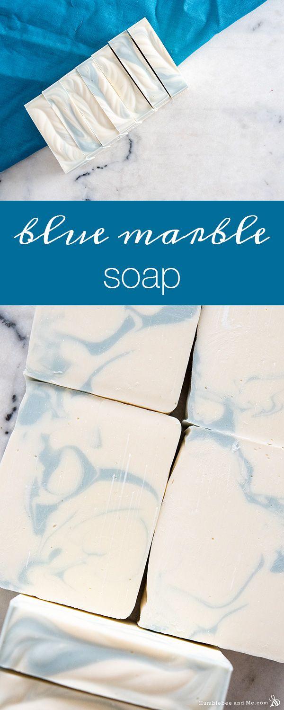 Blue Marble Soap Humblebee Me In 2020 Making Bar Soap Diy Soap Bars Cold Process Soap Recipes