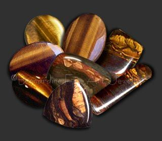 Tiger's eye: Many legends about quartz say that wearing tiger's eye (which is a form of quartz) is beneficial for health and spiritual well being. Legend also says it is a psychic protector, great for business, and an aid to achieving clarity.