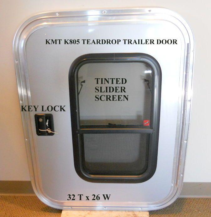 Teardrop Trailer Door RV with Window x & 737 best Tear Drop Trailer Camper Ideas images on Pinterest ...