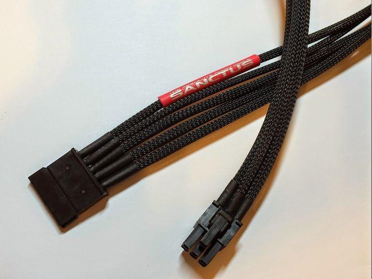"Sanctus  ""PSU Modular SATA power Cable"" - no official title yet  dramatic improvement on detail, dynamic range and balance"