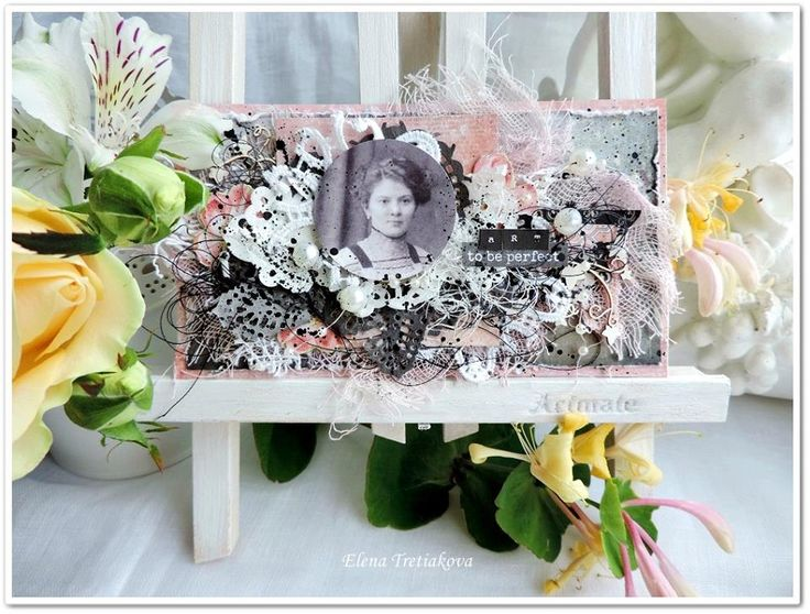Project created by More Than Words DT member Elena Tretyakova for the June Mini Challenge using the word ART. More details at http://morethanwordschallenge.blogspot.ca/2016/06/june-mini-challenge.html #morethanwords #morethanwordschallenges #mtw