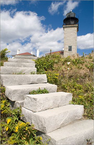 Rhode Island. Jamestown's most-visited landmark provides an unparalleled panoramic view of Narragansett Bay. The current lighthouse was built in 1856, though the original station dates back to 1753.