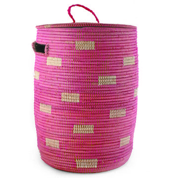 My design inspiration: Sahara Hamper Pink on Fab.