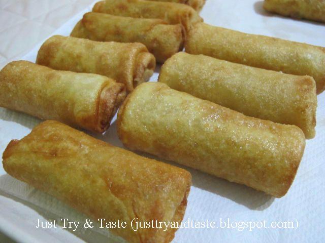 Resep Lumpia Goreng Isi Sayuran Lumpia Semarang Makanan Dan Minuman Resep Makanan