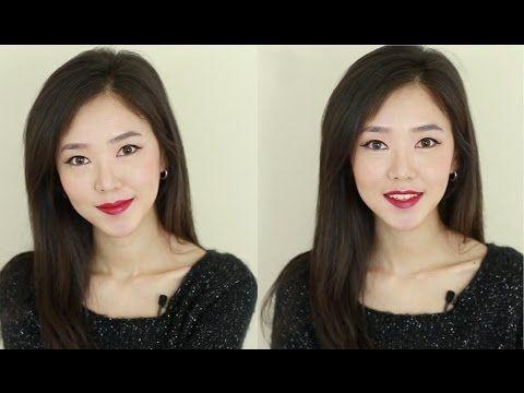 ▶ Bright RED Lips Makeup Tutorial 빨간 입술 메이크업 - YouTube
