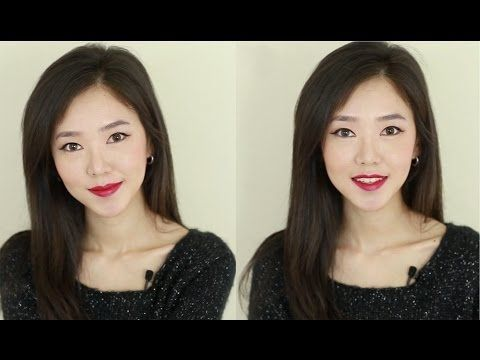 ▶ Bright RED Lips Makeup Tutorial 빨간 입술 메이크업 - YouTube