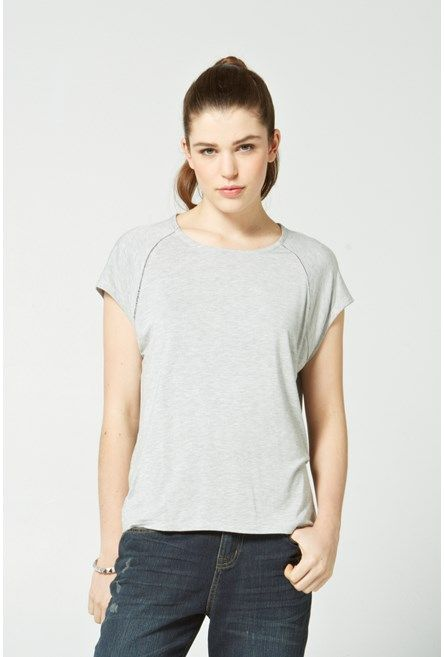 Shop for Essential Relaxed Raglan Tee - SALE - Max Shop