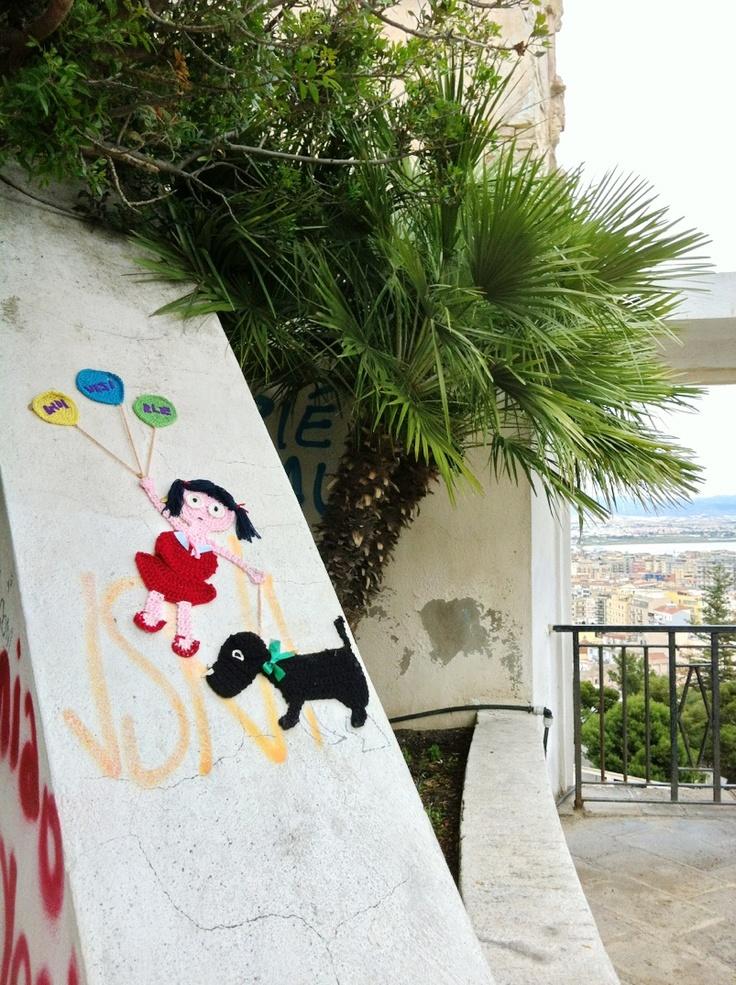 Indi visi ble  landscape #Cagliari