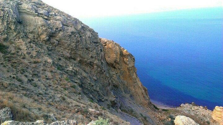 Moutain. Sea. Beautiful