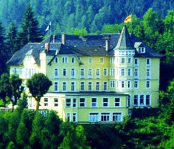 I stayed in this Hornberg Castle Hotel in Germany