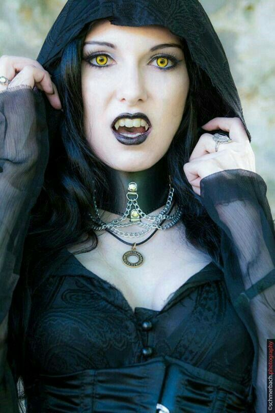 Think, Hot vampire goth girl