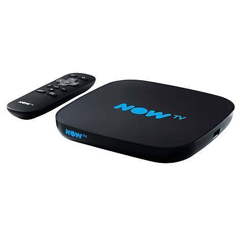 Buy NOW TV Smart TV Box with Pause & Rewind, with 5 Month Entertainment Pass, Black Online at johnlewis.com