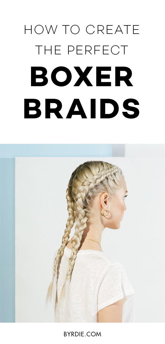 How to do a boxer braid