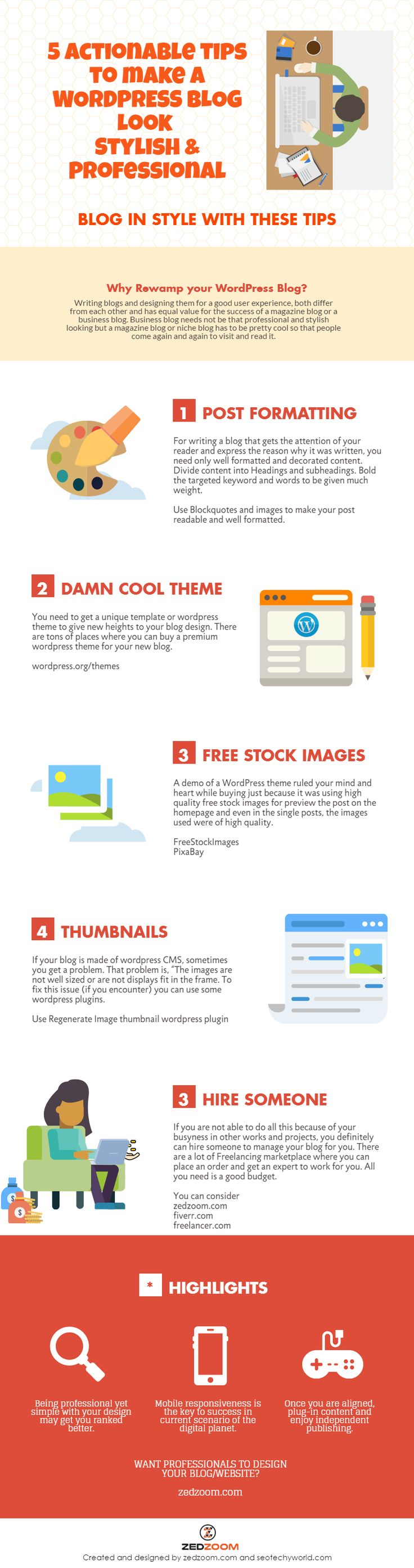 Rewamp your WordPress Blog with these Design Tips