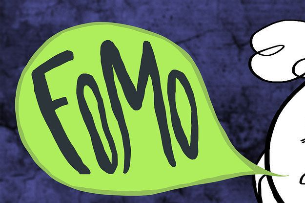 This Cute Cartoon Perfectly Captures FOMO