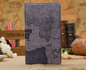 Leather PU Cover case for Google Nexus 7 2th tablet (2013 model) with card slot and wallets stand cover +screen film+pen