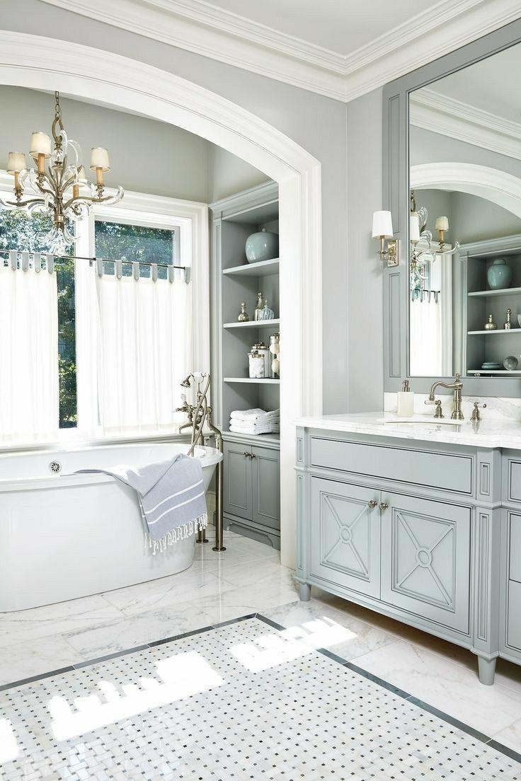 40++ Grey and white bathroom vanities best