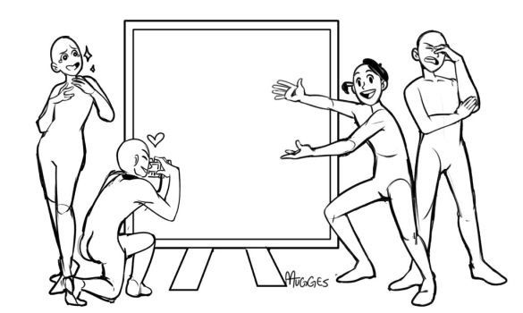 Amazingly painted Spock. Kirk: like ta dah! Sulu; talking pictures uhura; loving it McCoy: omfg really