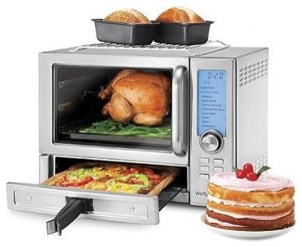 Countertop Oven With Convection And Rotisserie : Wolfgang Puck Toaster Oven Broiler with Convection plus Rotisserie and ...