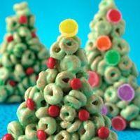 Cheerios #Christmas Trees Recipe