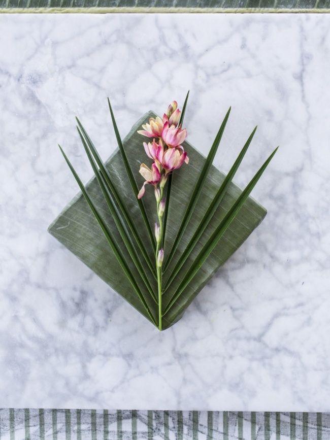 Tropisches Geschenkpapier direkt aus der Natur – #pflanzenfreude