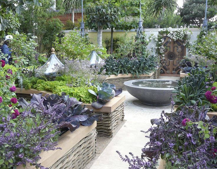 French+Garden+Design | And Garden Kitchen Designs : Breathtaking Design  Cooking Gardening .