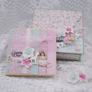 CHAOS ON A PAGE: ScrapBerry's - Baby giftbox - Mother's Treasure