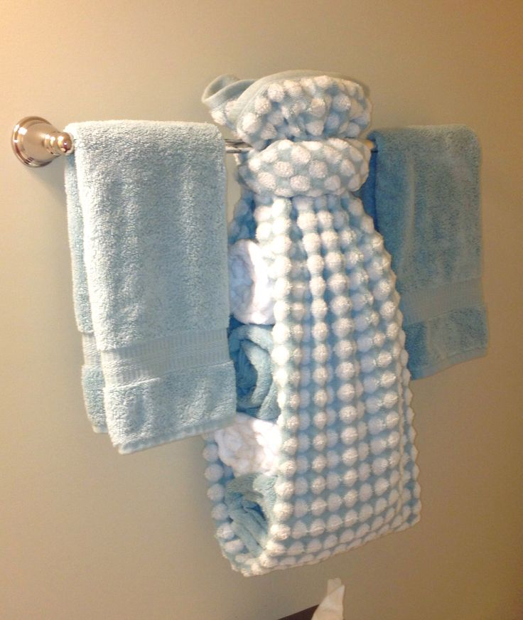 25 best ideas about towel display on pinterest