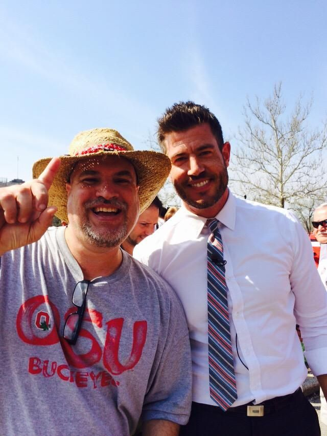 @RaysFanGio and Jesse Palmer