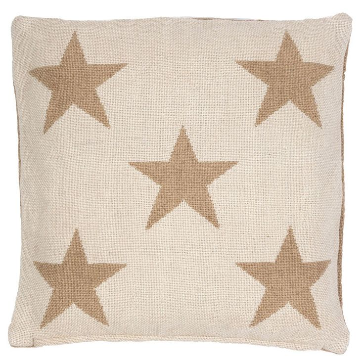 "Pillow Star Camel - Indoor/Outdoor 22"" - Hauser Stores"