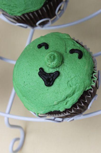 Veggie Tales cupcakes by sweet things by eh.  sweetthingsbyeh.com https://www.facebook.com/SweetThingsByEh