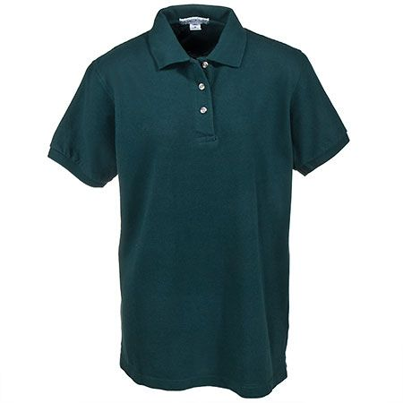Port Authority Women's Forest Green Sport Polo Shirt L420 FGN