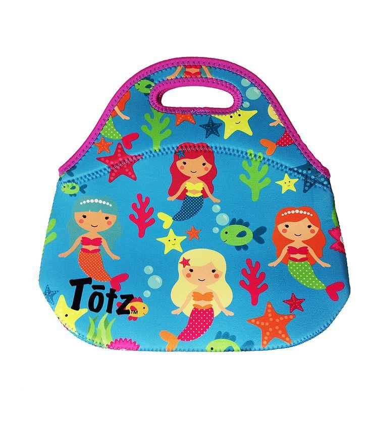 Mermaid Neoprene Lunch Bag