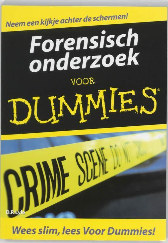 Boek: Forensisch onderzoek voor Dummies