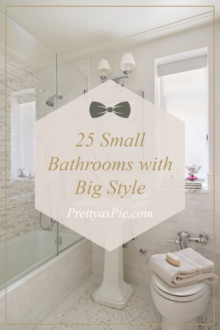 209 best bathroom ideas images on pinterest bathroom for Small but beautiful bathrooms