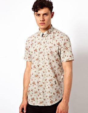 Religion Mourn Floral shirt $99