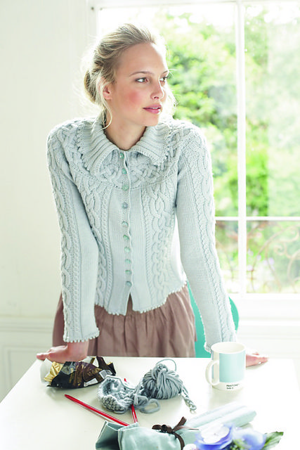Debbie Bliss Knitting Pattern Corrections : Ravelry: Cable Band Cardigan pattern by Debbie Bliss A Stitch in Time..... ...