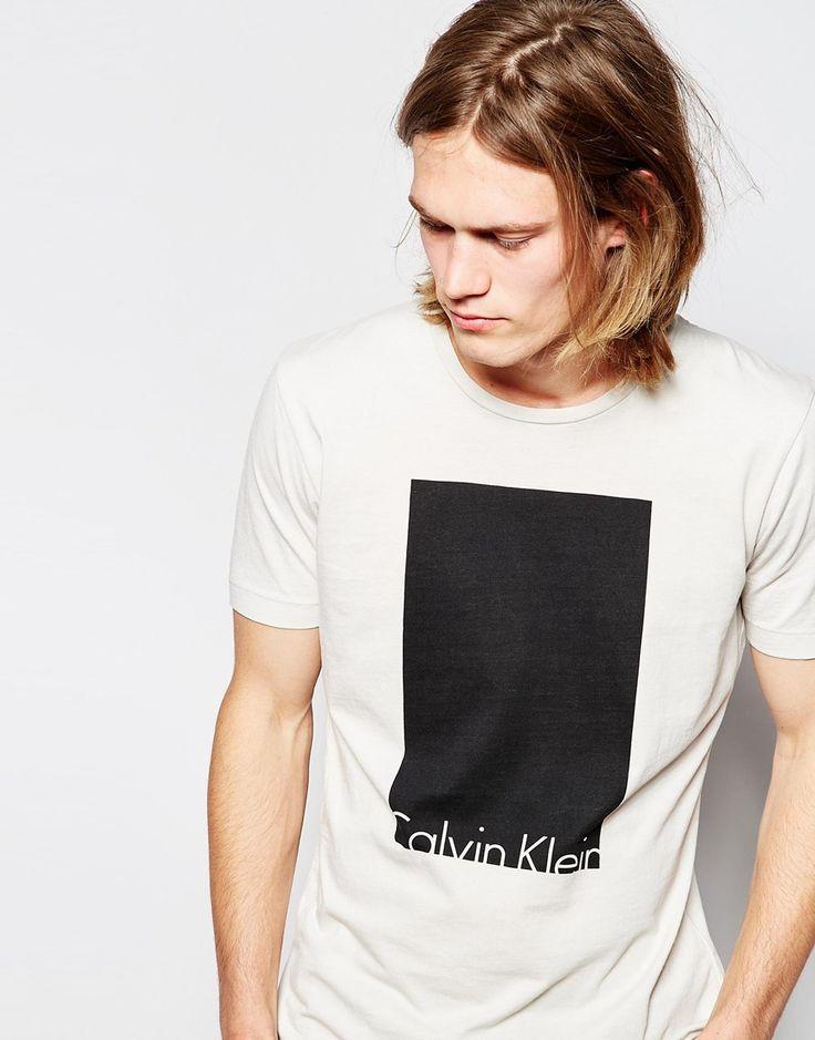Calvin Klein Jeans T-Shirt with Box Logo
