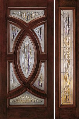 Aurora custom fiberglass jeld wen doors windows - Jeld wen exterior doors with sidelights ...