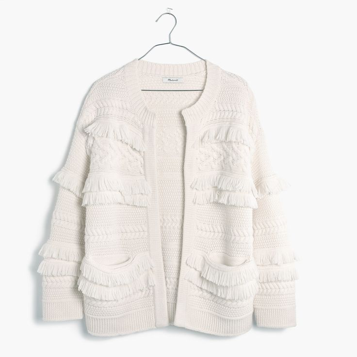 Madewell Desert Valley Fringe Cardigan Sweater                                                                                                                                                                                 More