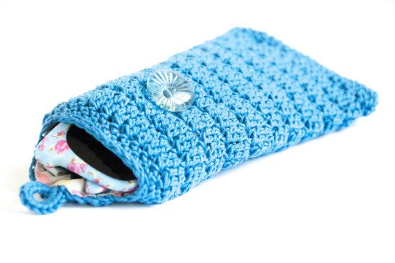 The Sunglasses Pouch a crochet pattern. Easy crochet pattern for a sunglasses pouch with a button to close. You will need yarn, crochet hook, thread, fabric, button and elastic. Cute diy gifts. Joy of Motion Design   Sunglasses pouch crochet pattern   glasses case crochet pattern   glasses pouch crochet   diy glasses case. Click to purchase or repin to save it forever.
