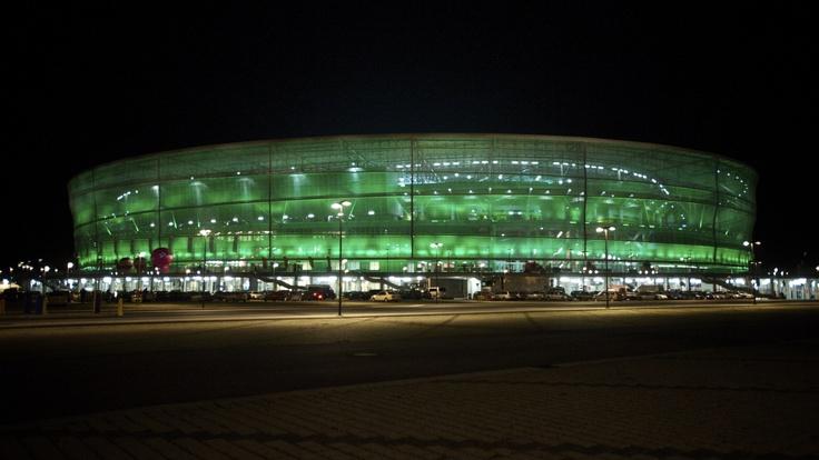 Stadion Wrocław w barwach Śląska Wrocław