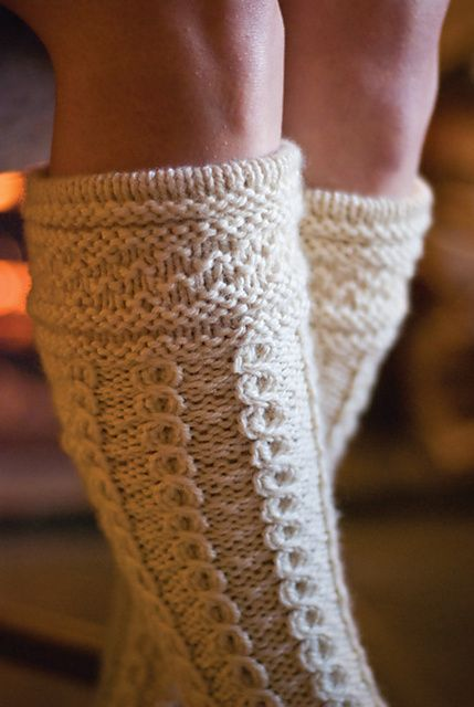 Ravelry: Hielan' Lassie Socks pattern by Melissa Morgan-Oakes
