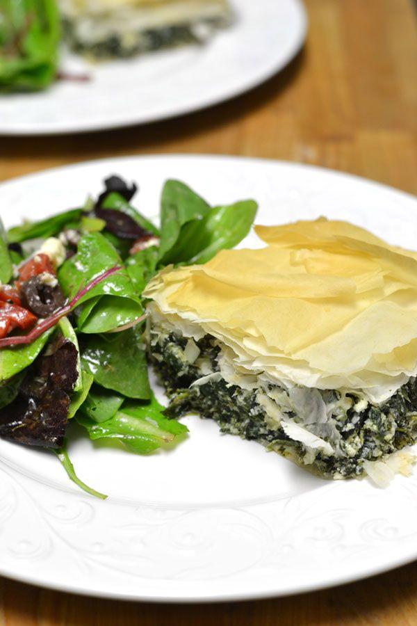Spanakopita, Greek Spinach Pie | RECETAS DE COCINA... | Pinterest