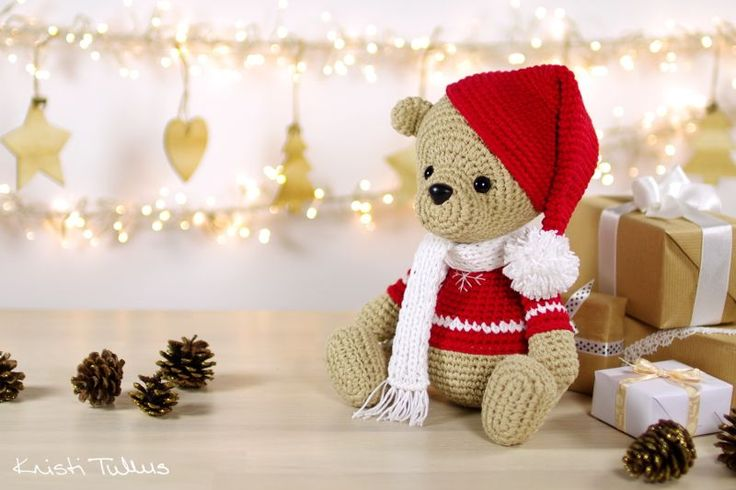 Teddy bear pattern // Kristi Tullus (spire.ee)