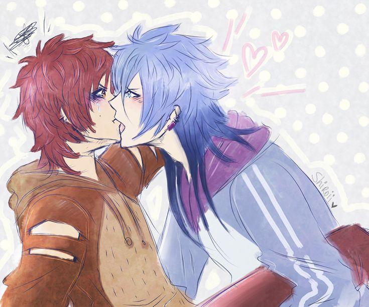 Mordecai x Rigby Gijinka Style p3p <3I love that Mordecai try this kiss even when Rigby takes a pouting and tantrum (?) x'DDDDDD ~~ Me encanta imaginar que han estado discutiendo alg...