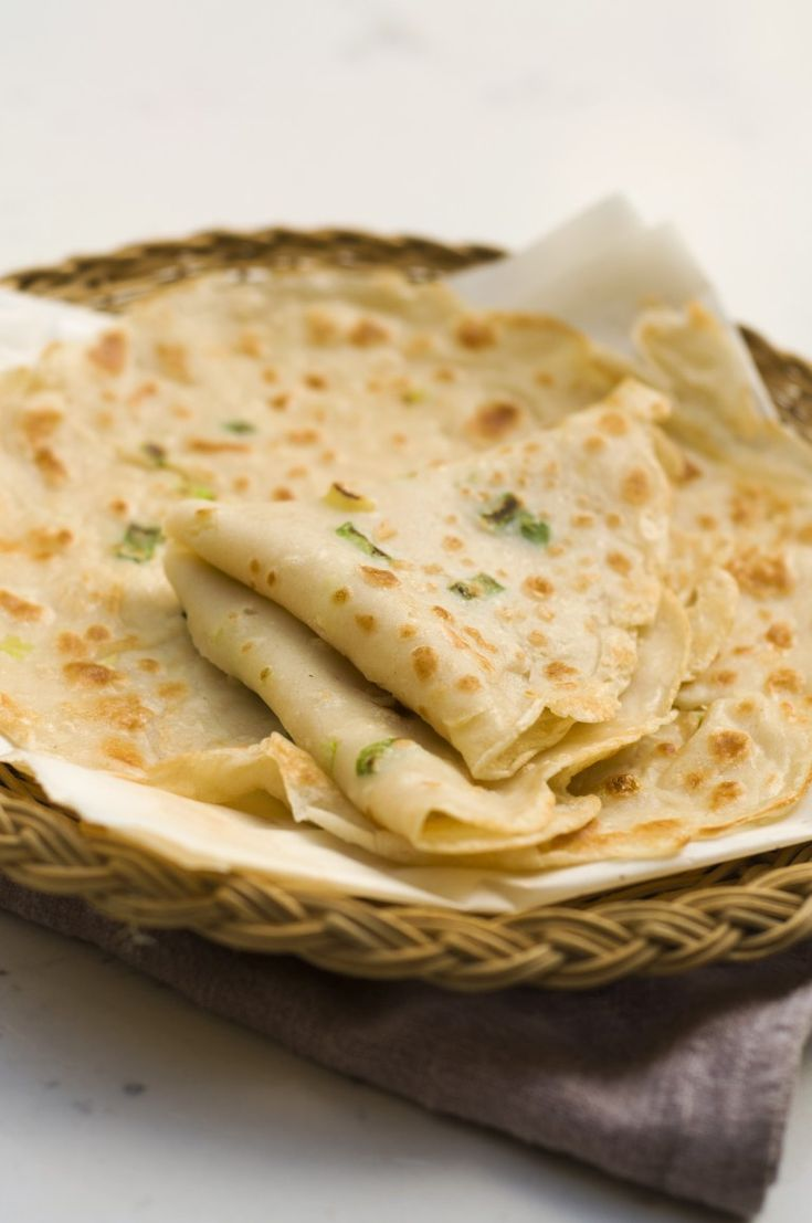 Chinese Egg and Green Onion Pancake   – Favorite Recipes
