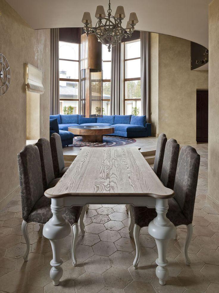 Вокруг камина - Лучший интерьер квартиры <br>загородного дома | PINWIN - конкурсы для архитекторов, дизайнеров, декораторов